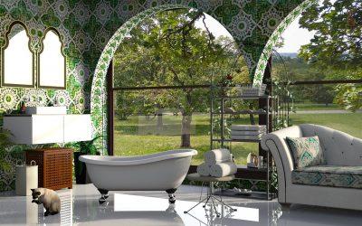 Die Gestaltung eines Badezimmers