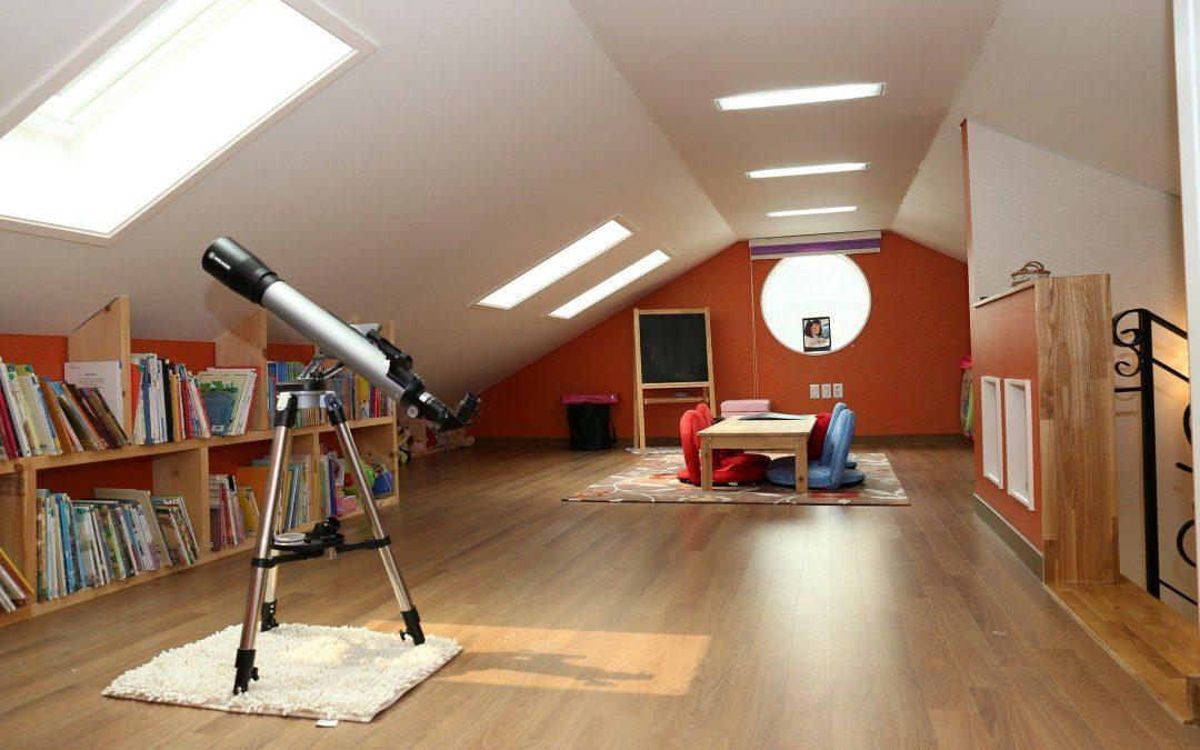 Wohntraum: Vom Dachboden zum Lebensraum